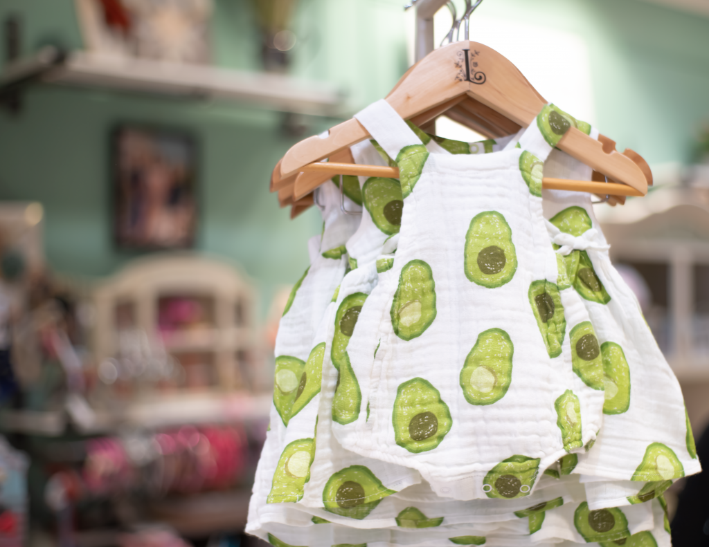 Product Photography for children's clothing.