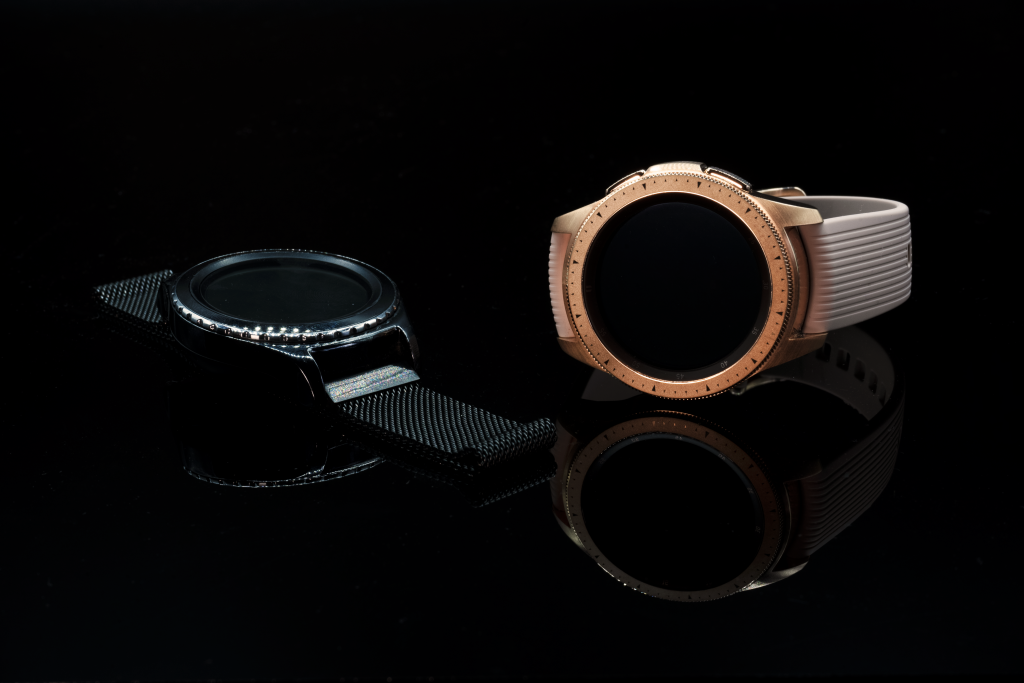 Product photography for jewelry such as watches.