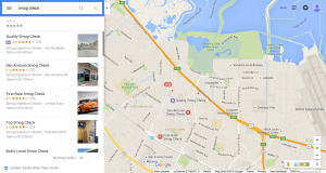 Google AdWords Local Search Listings in Desktop Browsers